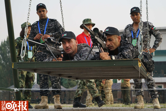 武警雪豹突击队获国际狙击手大赛总冠军图片