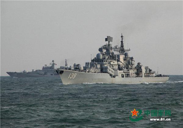 解放军在东海演练对海超视距打击 场面震撼(图)