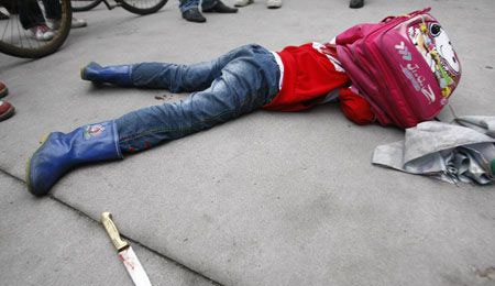 少女放学途中被杀 放学回家被强奸后致死 嫌疑人已落网