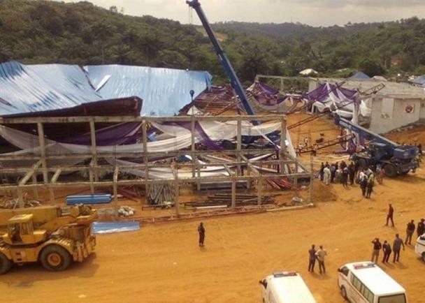 尼日利亚教堂坍塌遇难人数涨至160人 现场情况惨烈