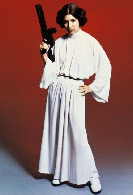 因为《星球大战》系列之中莱娅公主一角色而闻名的女演员凯丽·费雪