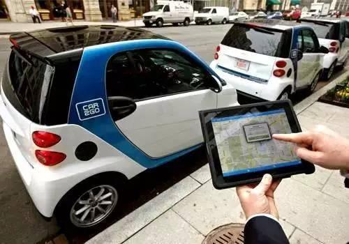 共享汽车来了 15元起步的奔驰smart随便开__中国青年网