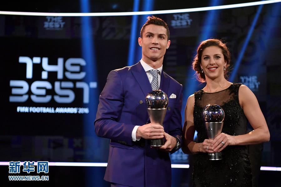 (组图)C罗荣膺足球先生 国际足联这样颁奖