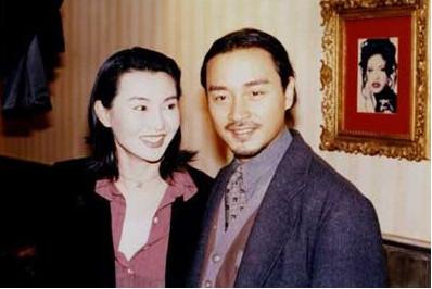 张国荣与十女星珍贵合影又想念哥哥了