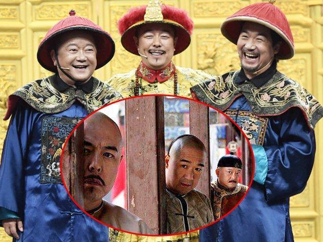 张国立,张铁林,王刚20年后再演《纪晓岚》图片