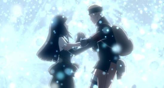 《火影忍者》鸣人和雏田的婚礼 有一个人没有参加