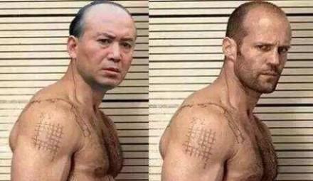 杰森·斯坦森撞脸郭达 更像的是这位!演雷神都不用配音