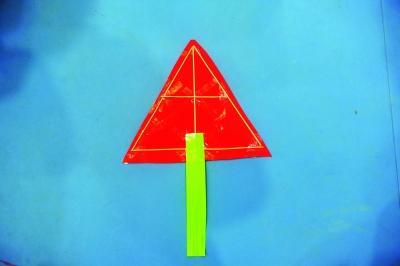 创意三角形风筝设计