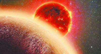 类地系外行星首次发现富水大气层