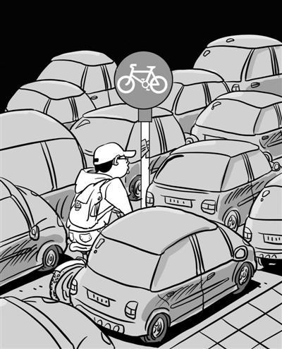 由于小汽车保有量逐年上升等因素,机动车与非机动车,行人之间的道路