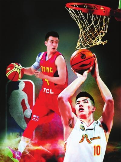 邹雨宸、赵继伟入围 NBA选秀名单