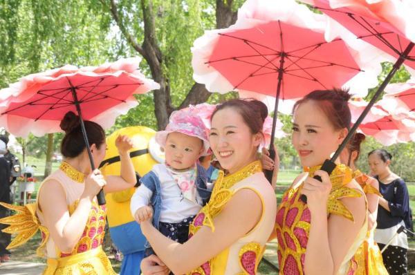 北京:世界花卉大观园迷你情趣巡游精彩自助杭州开场花车店图片