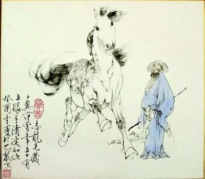 马画画步骤图片