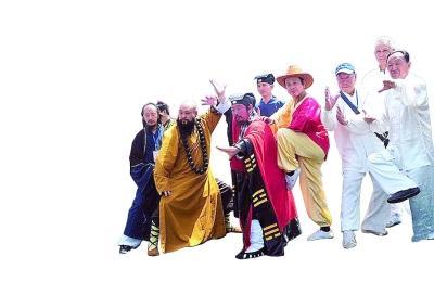关于武林高手的四大贪玩蓝月误读搞笑图图片