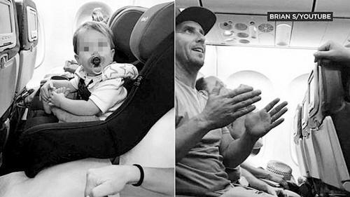 可把原本坐在儿童安全座椅内的孩子在飞机起飞过程中
