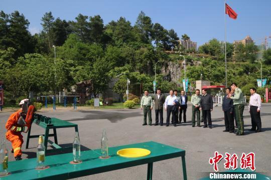 国务院考核组开启贵州省2016年度消防工作考核