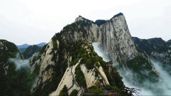 国家重点风景名胜区华山景区.