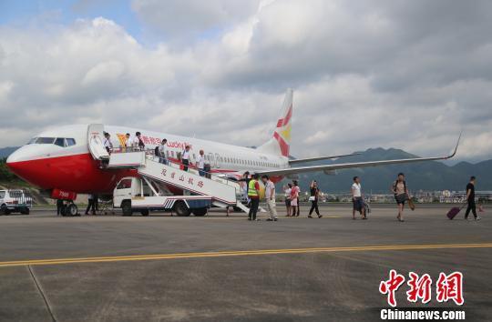 南京航线,机场已开通了七个航点城市航班