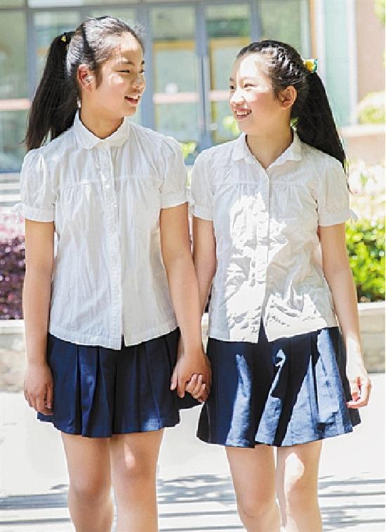 小学生毕业照 也可以很美图片