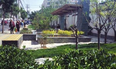 枫林小筑小游园,学府路小游园,中和教育世家小游园目前已完成方案设计