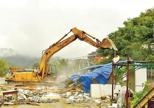 柳州刮 飓风 拆违建