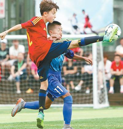 上海国际少年足球邀请赛开赛