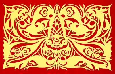 6瓣花剪纸图解步骤