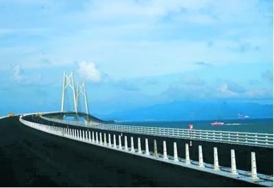 通了 港珠澳大桥