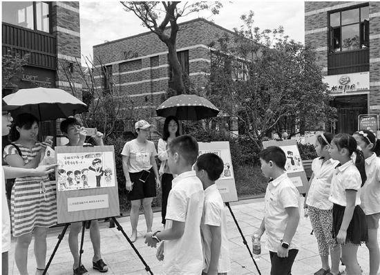 大学生手绘漫画形象知识v漫画安全防范漫画_新寻天津宝记民警图片