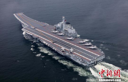 持续深入探索检验航母编队远航实战化训练模式.