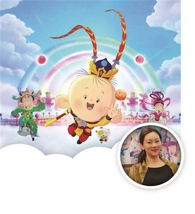 """记者:听说""""胡图图""""的动画形象是根据导演儿子小时候的样子画的?"""