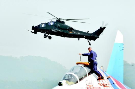 直升机改型兼当武装直升机的历史,大大提高了航空突击与反装甲能力.