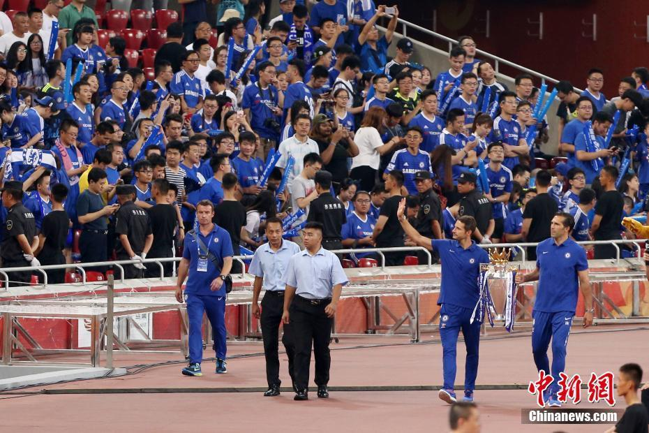 2017切尔西vs阿森纳伦敦超级德比杯在北京举行图片