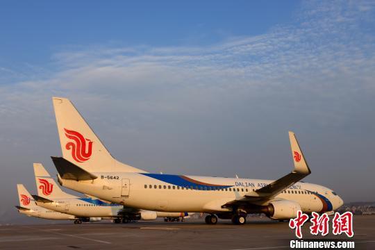 大连航空目前共执管10架波音737-800型飞机,并相继开通了大连至北京