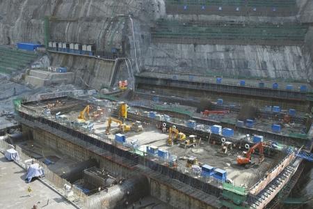 白鹤滩水电站主体全面开工