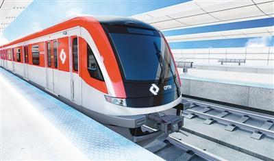 日前,中车青岛四方机车车辆股份有限公司与巴西圣保罗城际铁路公司在