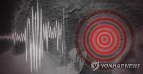 资料图片:韩国地震。(图片来源:韩联社)