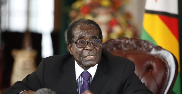 外媒:穆加贝将遭弹劾 或于22日被罢免总统职务