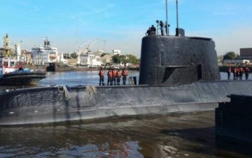阿根廷潜艇失联5日仍杳无音讯 氧气仅够用7天