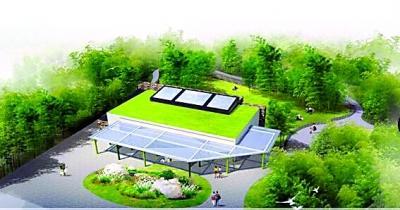 """武汉动物园大熊猫馆规划设计方案正在批前公示期,按照规划,""""伟伟""""的新"""