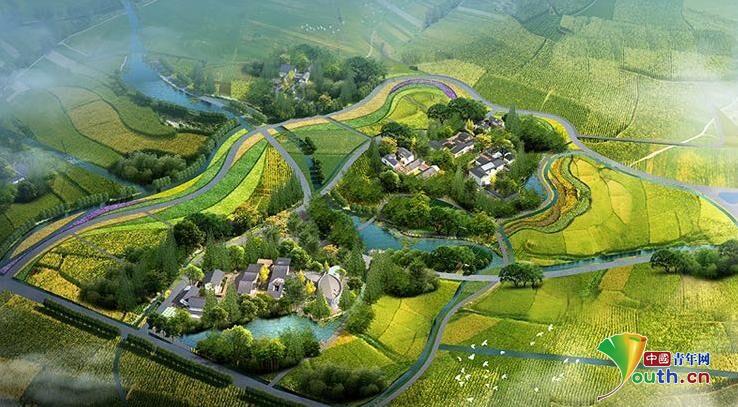 袁隆平国际杂交水稻种业硅谷项目在成都郫都区开工