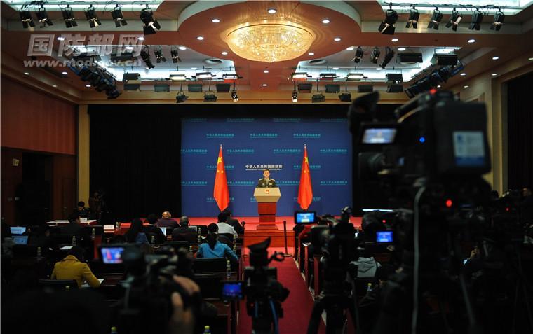 """美副总统声称中国""""军事化""""南海 国防部一句成语回怼"""