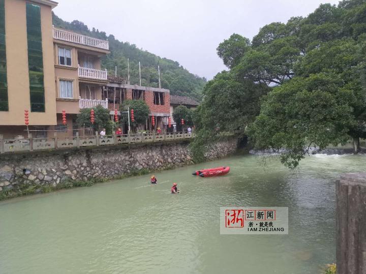 温州山洪暴发一消防员被冲走失联 搜救队员回忆事发过程