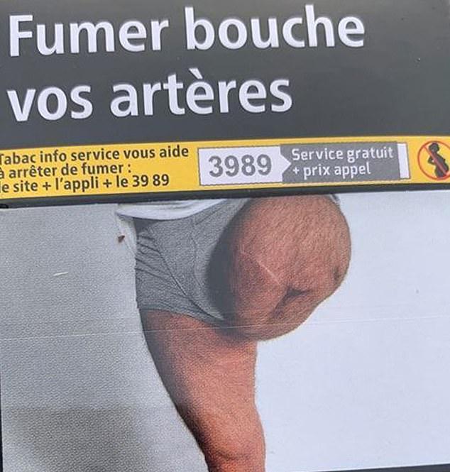 气愤!法国一男子发现自己照片被用在香烟包装上