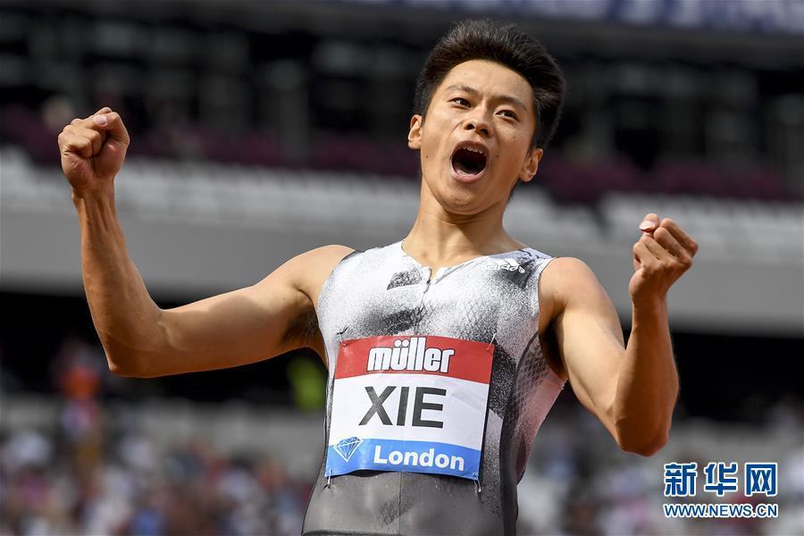 謝震業赢得鑽石聯賽倫敦站男子200米冠軍并打破亞洲紀錄