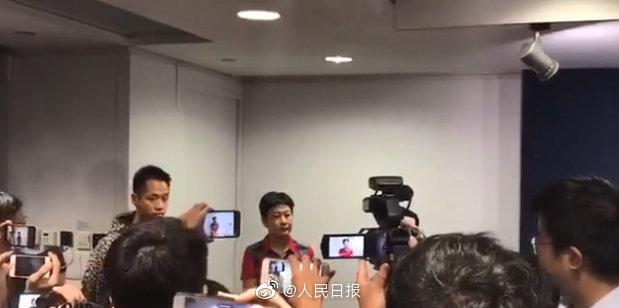 内地女记者被港媒无礼围堵 广东广播电视台发声明强烈谴责