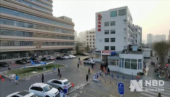 民航总医院 图片来源:每经记者 滑昂 摄