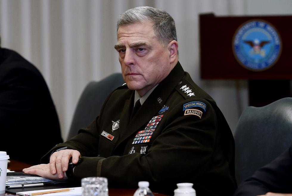 恒行注册:美军最高将领马克·米利正