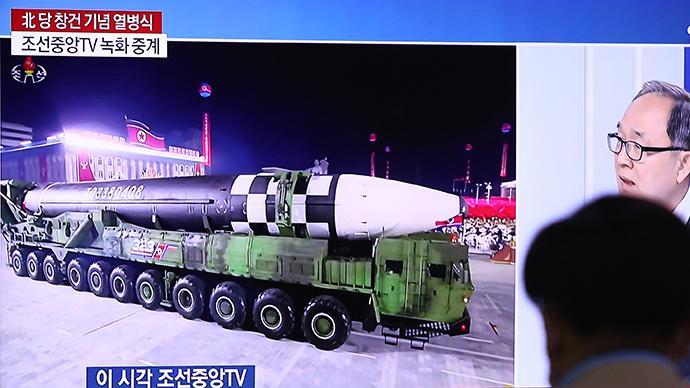 百事注册:外媒:朝鲜阅兵式