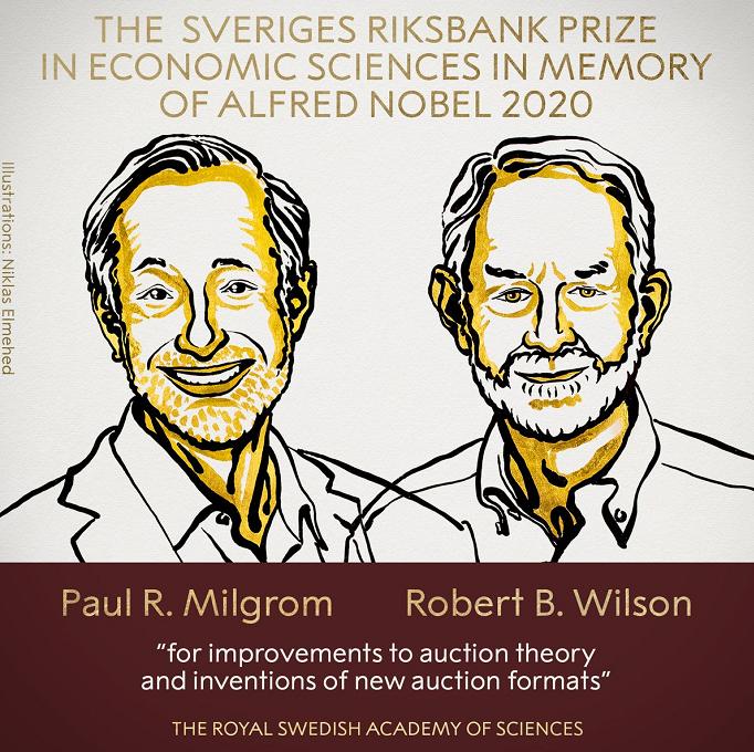 百事注册:2020诺贝尔经济学奖正式公布!两位美